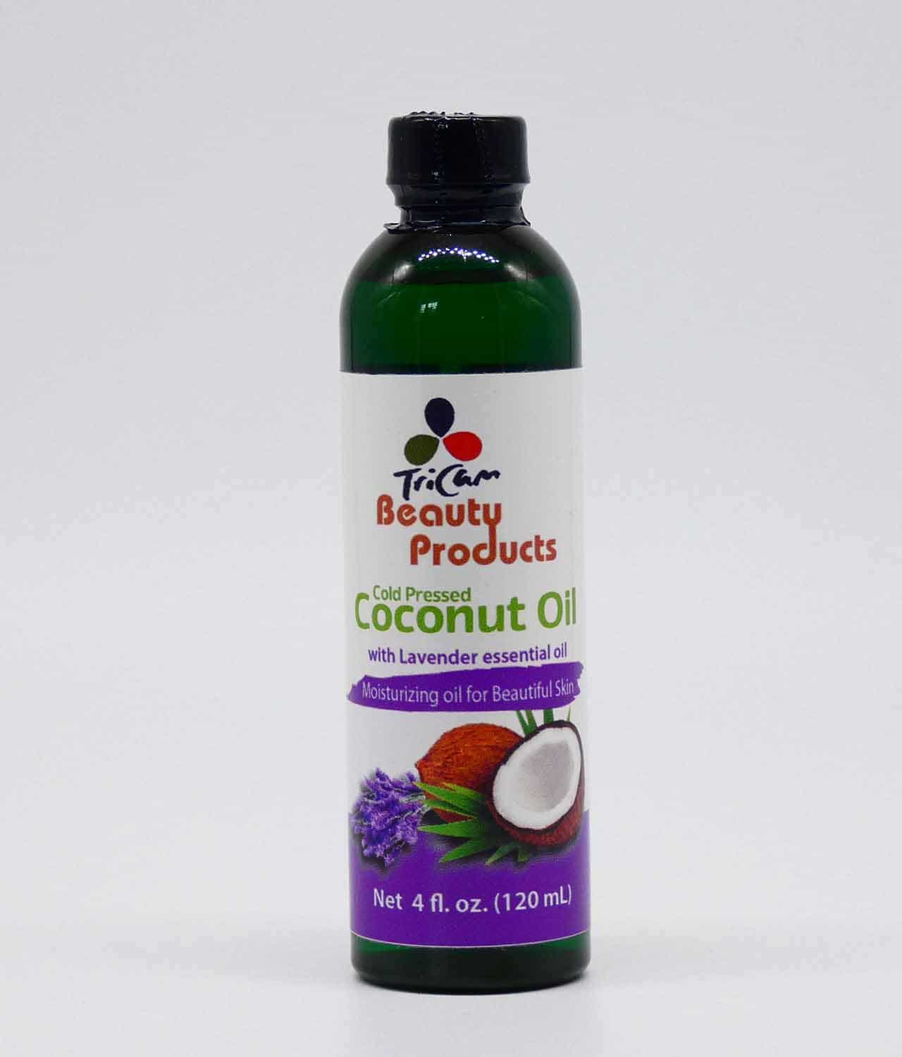 Coconut Oil and Lavender Essential oil 4oz