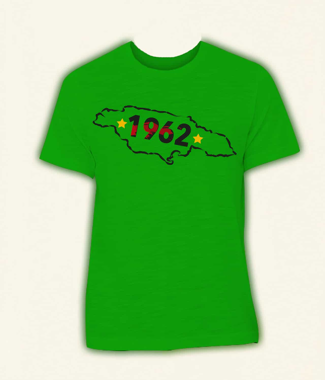Irie Magic Map of Jamaica Tshirt (1pc) - Best Buy - Shop Now!