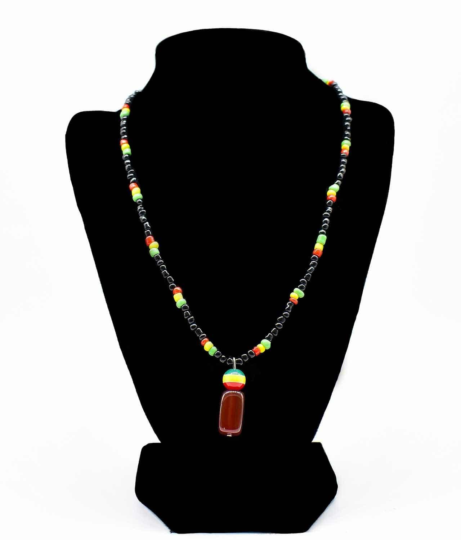 Stone Necklace Mens (1pc) - Best Buy - Shop Now!
