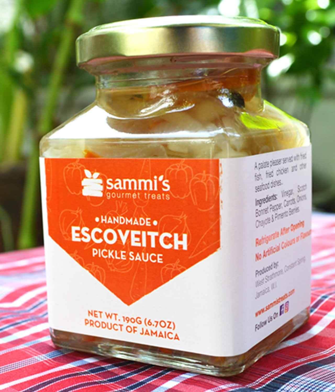 Jamaican Escovitch Pickle