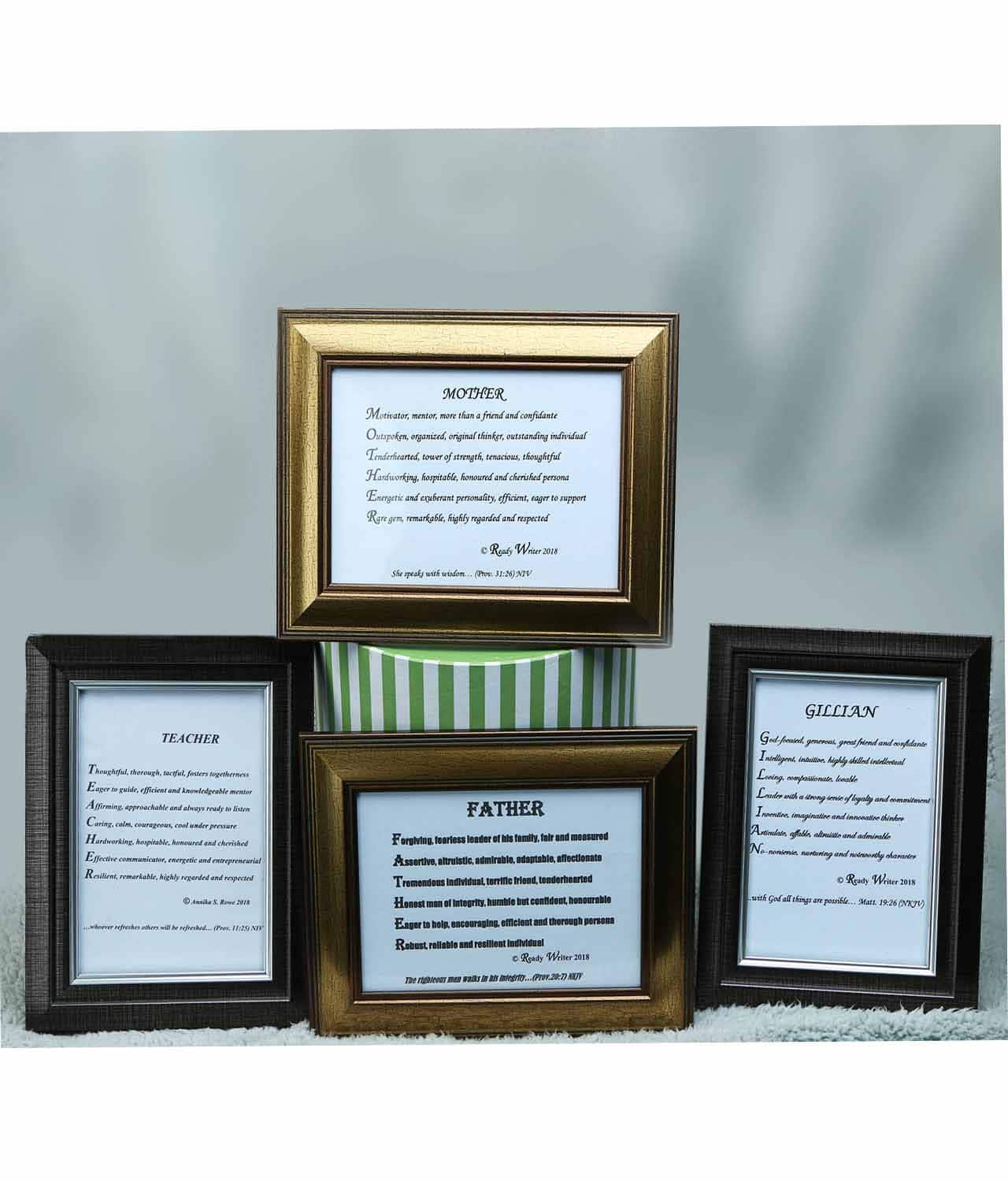 Ready Writer Picture Frames (1pc) - Best Gift - Buy Now!