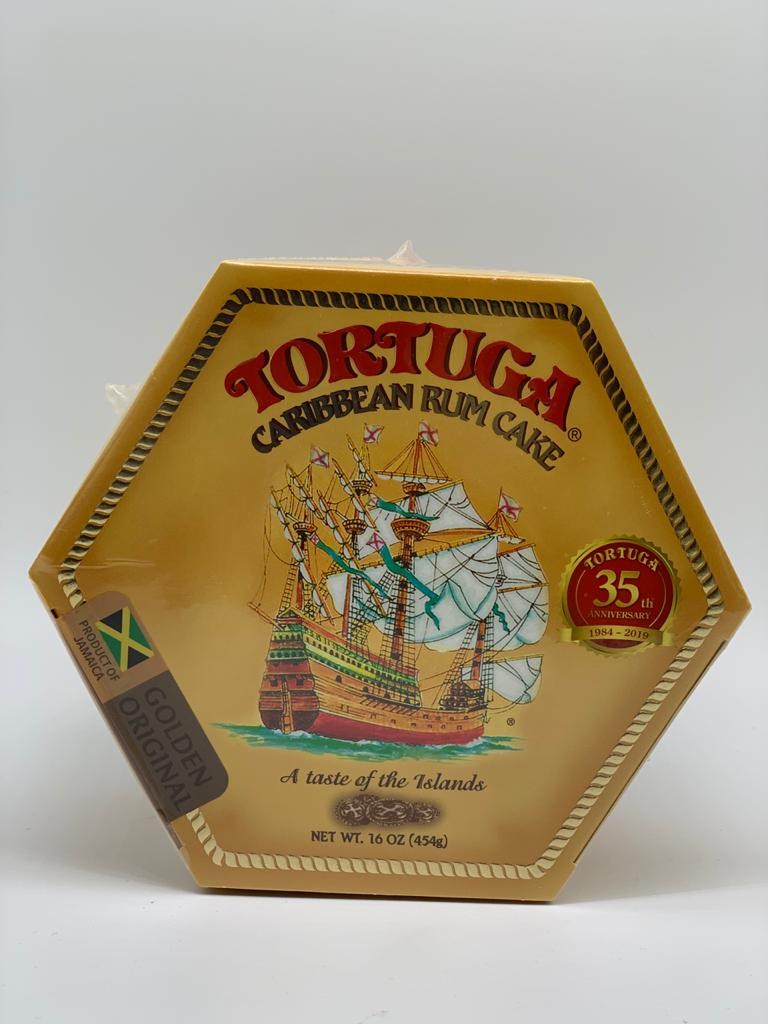 Jamaican Rum Cake Tortuga16oz