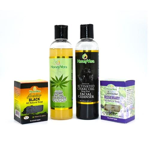 Honey Vera Facial Set (1bar/bottle) - Best Buy - Shop Now!